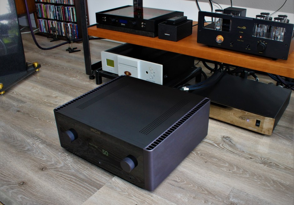 rotel michi x5 in marc phillips system