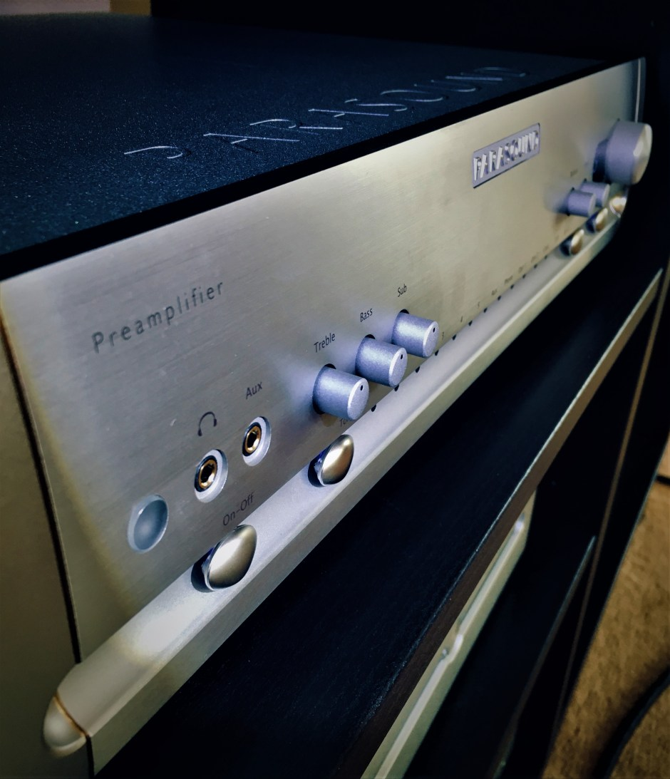 The latest Parasound Halo preamplifier