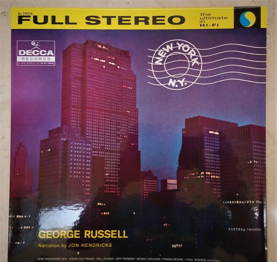 george russell, new york, n.y.
