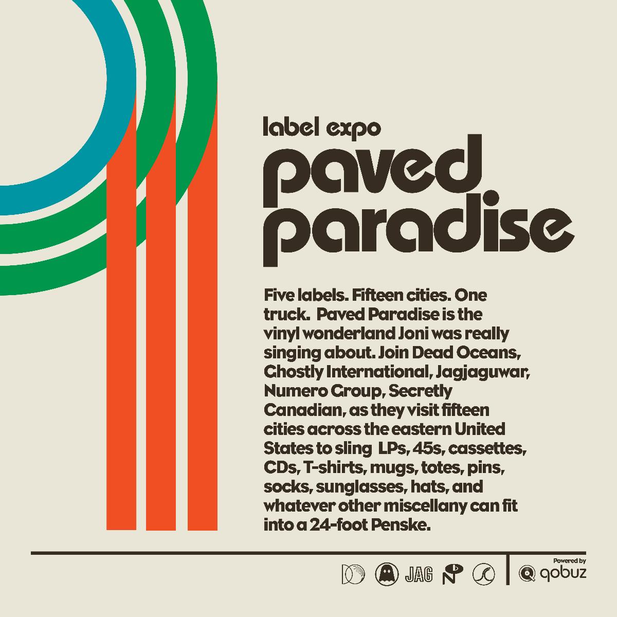 Qobuz joins Paved Paradise, Traveling Label Expo