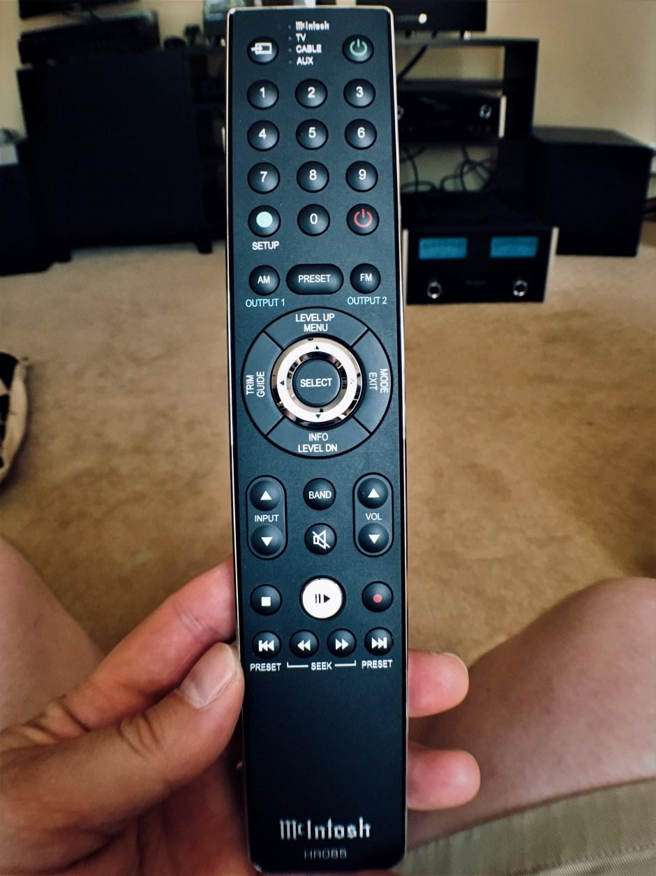 mcintosh remote control