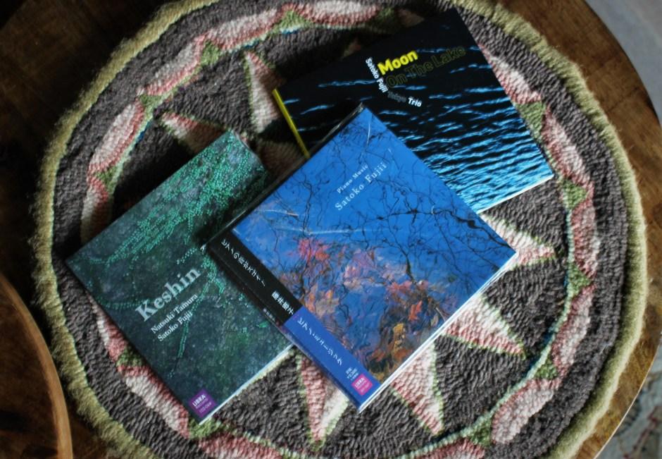 the last three releases from Satoko Fujii
