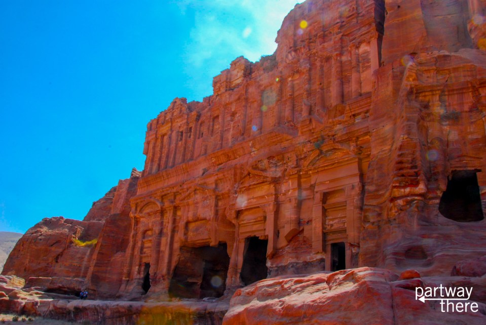 The royal tombs at Petra