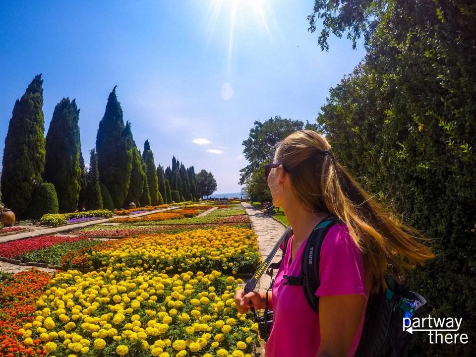 Gardens in Varna, Bulgaria