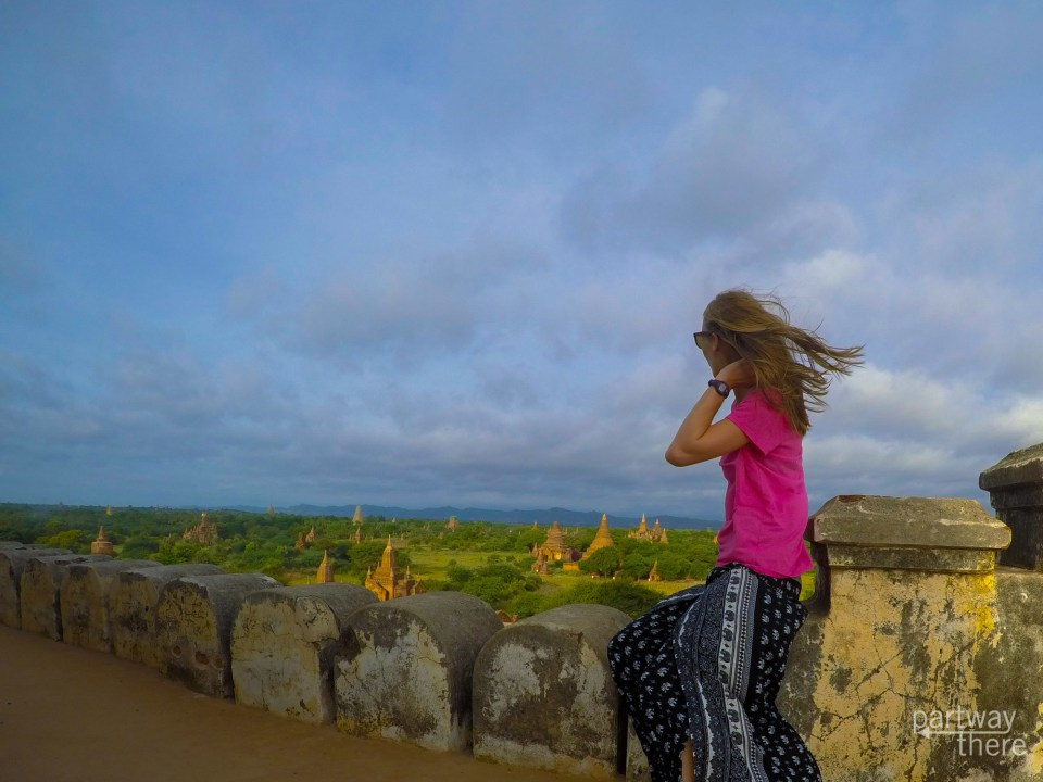 Amanda Plewes in Bagan, Myanmar