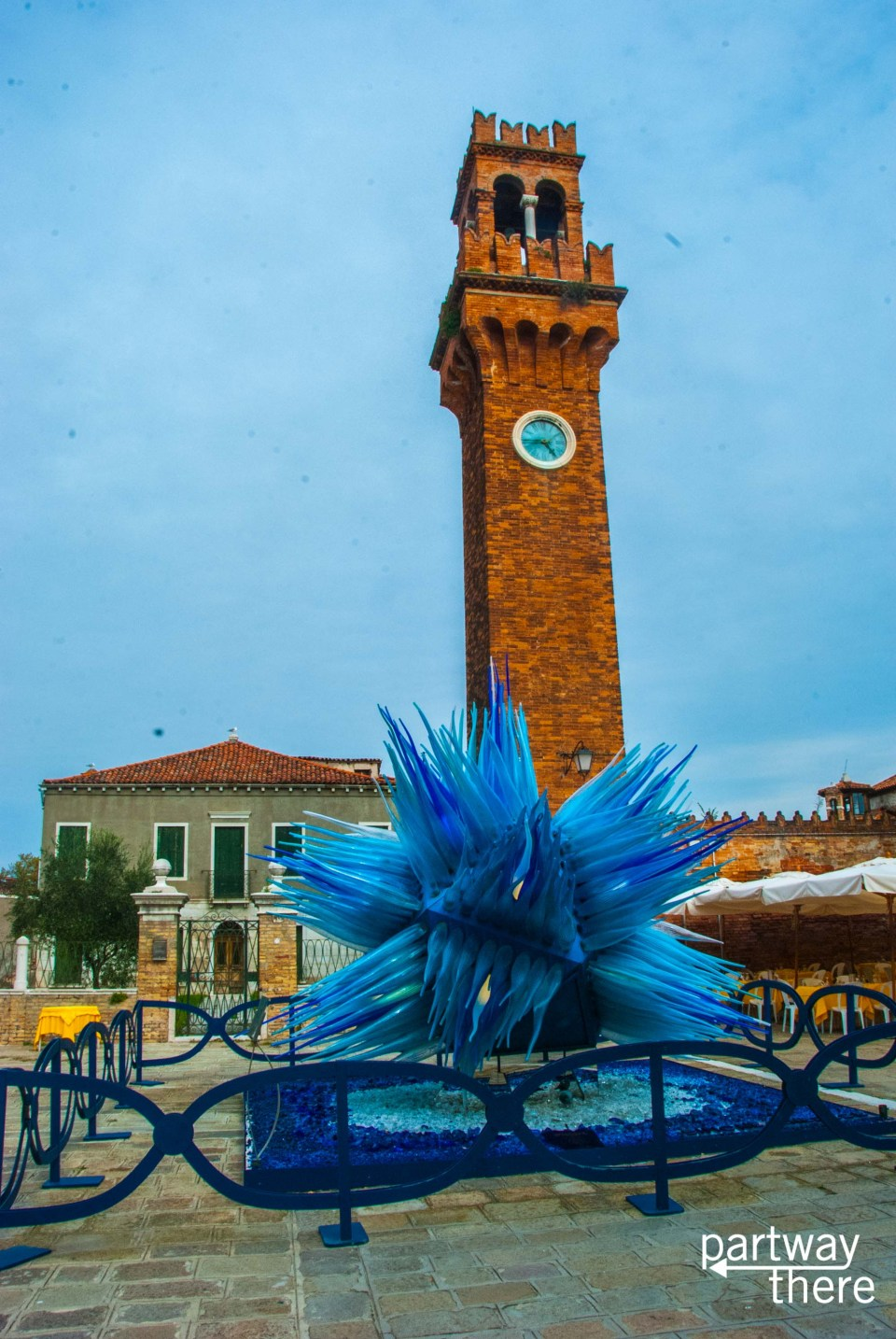 Glass on the island of Murano