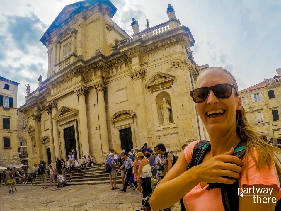 Amanda Plewes in Dubrovnik