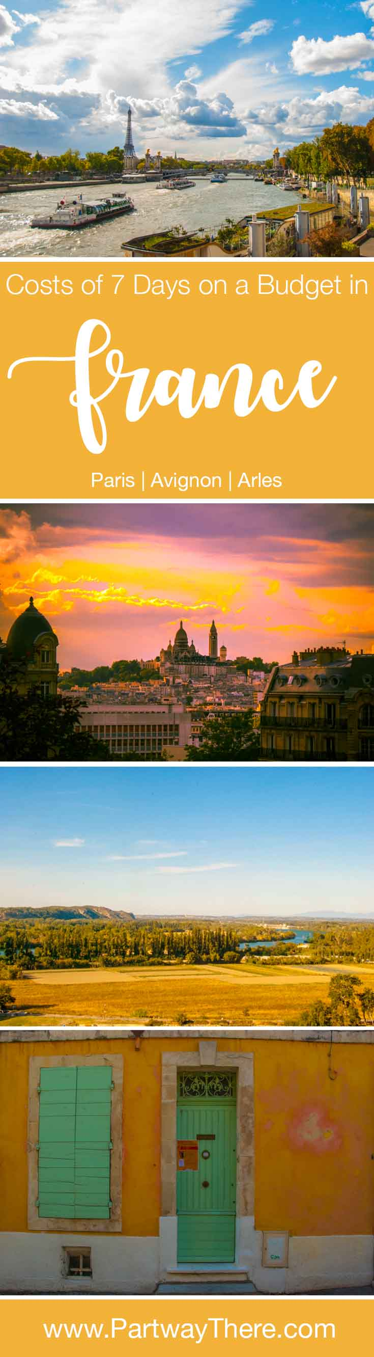 Image for 2017 costs for 7 days on a budget in France, including Arles, Avignon, and Paris
