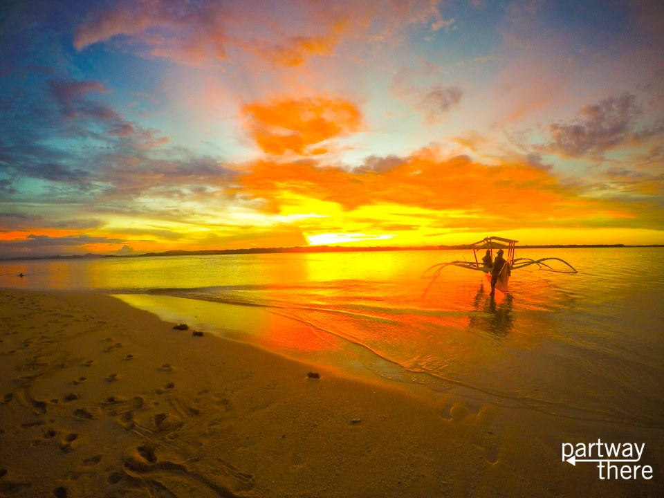Sunset in the Philippines - taken with a GoPro