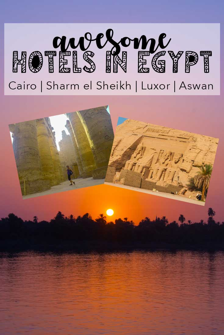 Awesome hotels in Egypt