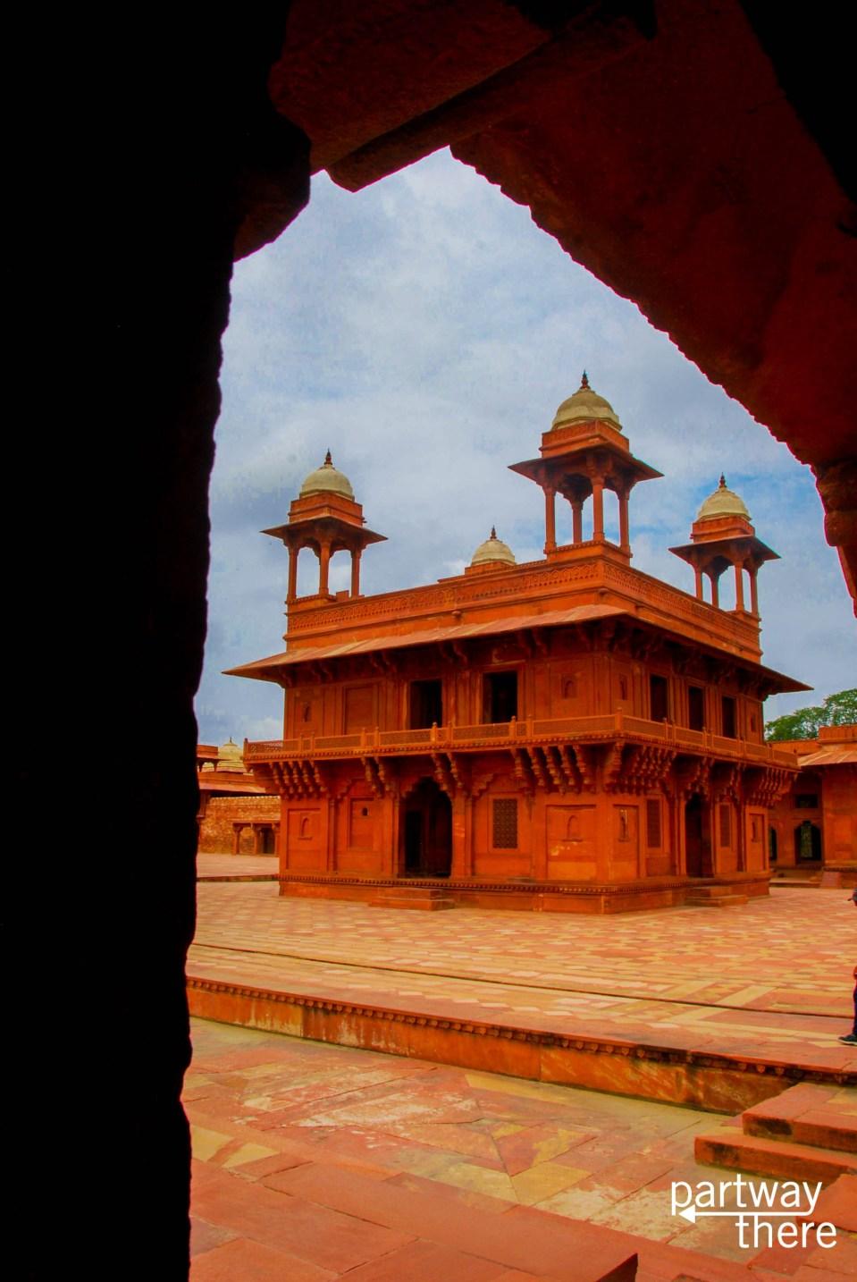 The Diwan-i-Khas at Fatehpur Sikri