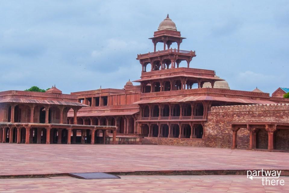 The Panch Mahal at Fatehpur Sikri