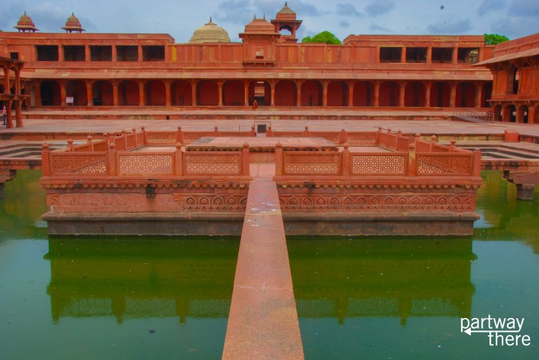 The Anup Talao at Fatehpur Sikri