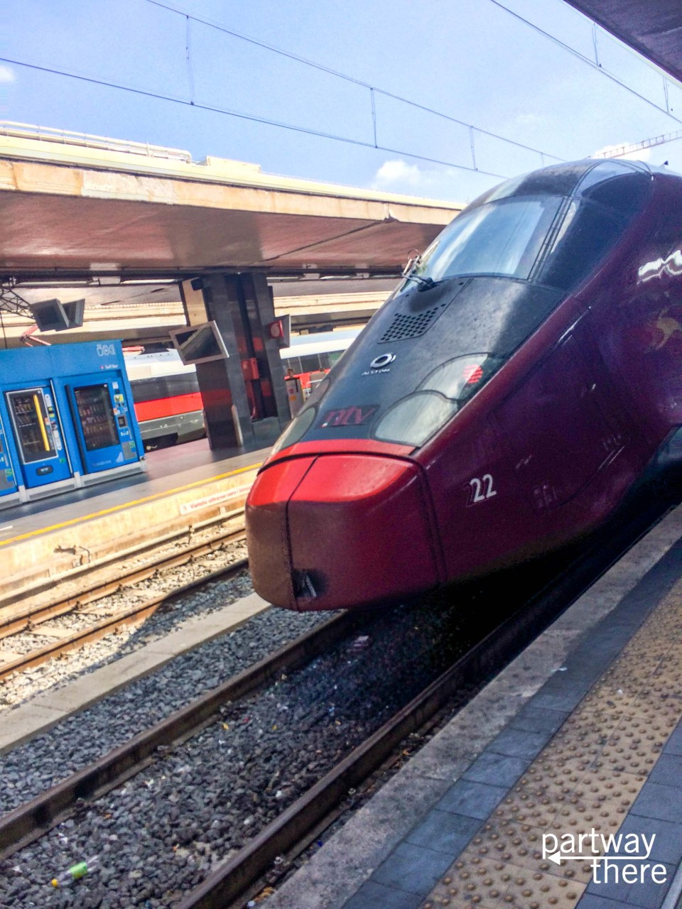 The Italo train in Italy