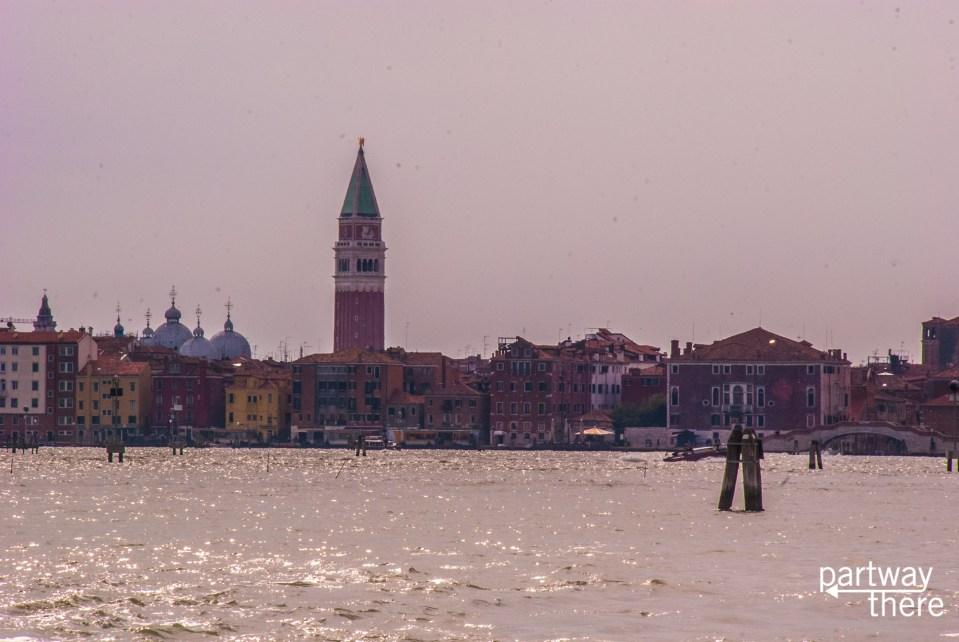 Venice through the haze