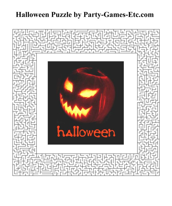 free halloween party games printables # 17