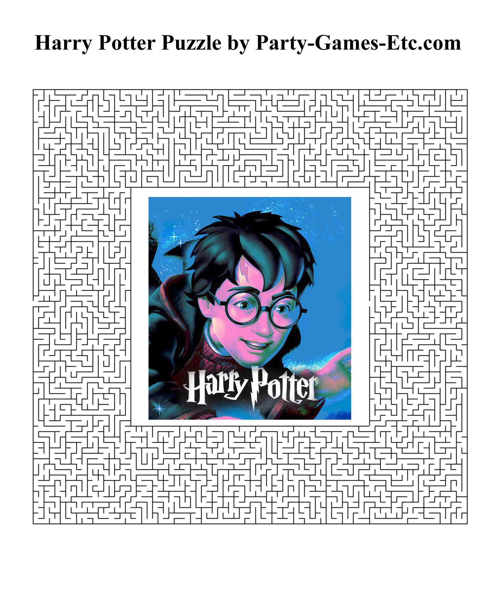 Harry Potter Activities Printable That Are Intrepid