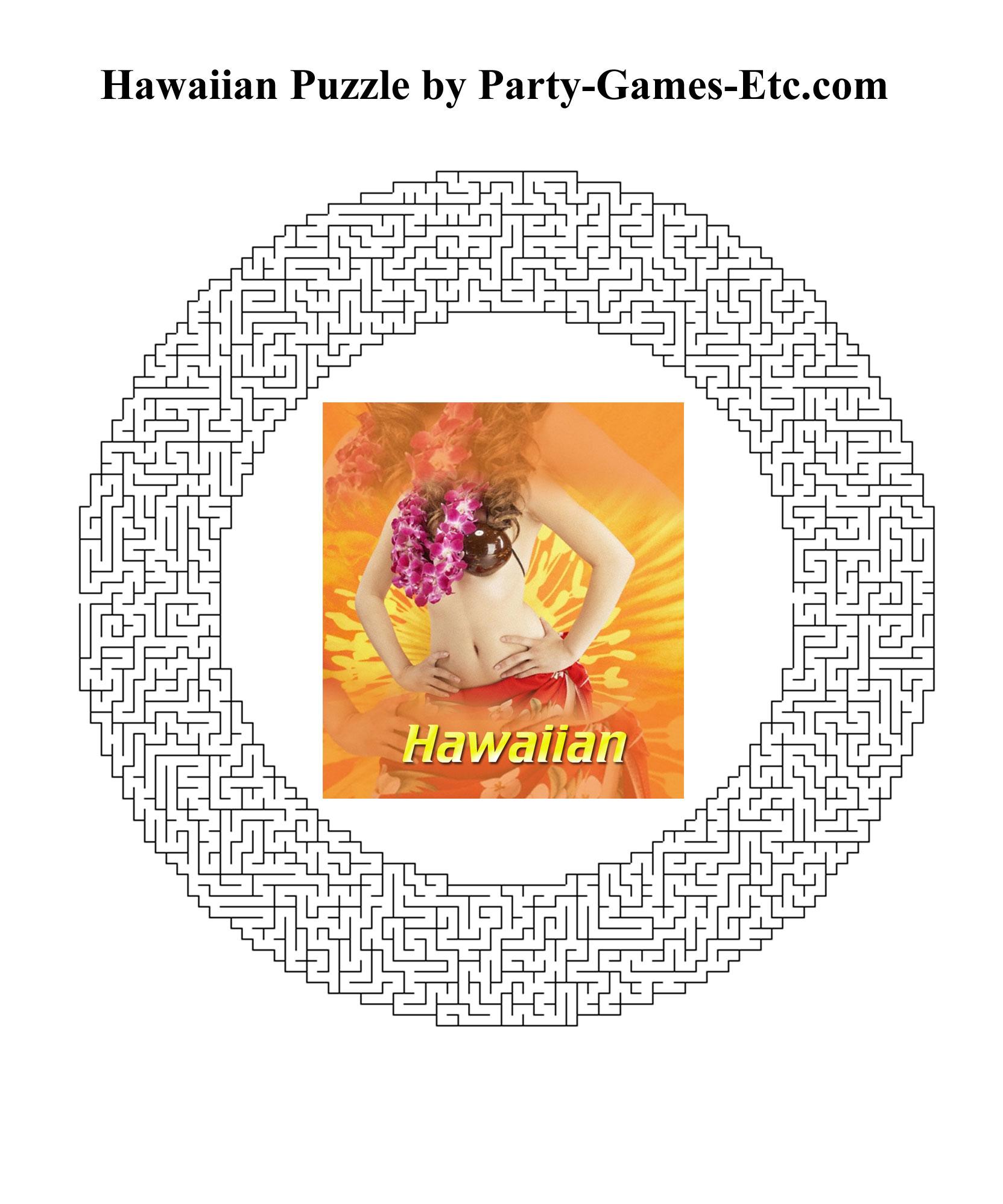 Free Printable Memory Games With Hawaiian Theme 9jasports