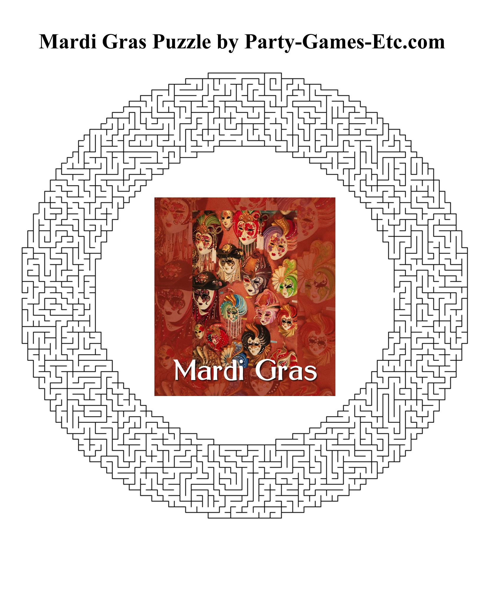 Free Printable Mardi Gras Mask 9jasports