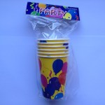 Party Paper Cups with balloon design