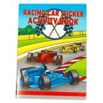 Formula One Racing Car Sticker Activity Book