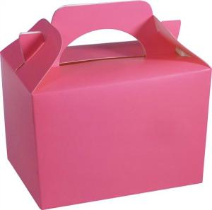 Neon Pink Party Food Gift Box