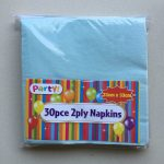 Blue Party Napkins