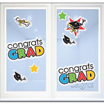 Graduation Party Window Decorations