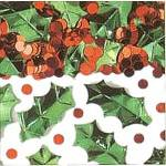 Christmas Holly Berry Confetti