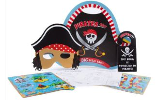 Pre-filled Pirate Activity packs. Keep your little ones happy with this fun filled bag.