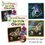 Sparkle Creation Dolphin and Butterfly sets