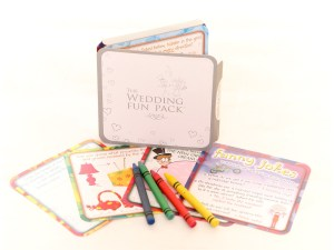 Wedding fun pack and contents