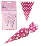 Pink Sweet Cones