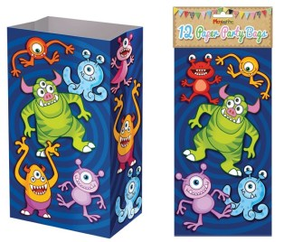 Monster Paper Party Bags