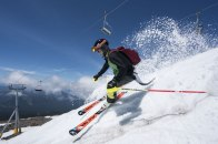 Summertime skiing!