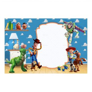 5 toy story invitation free low cost