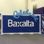 Corporate custom balloon wall and columns