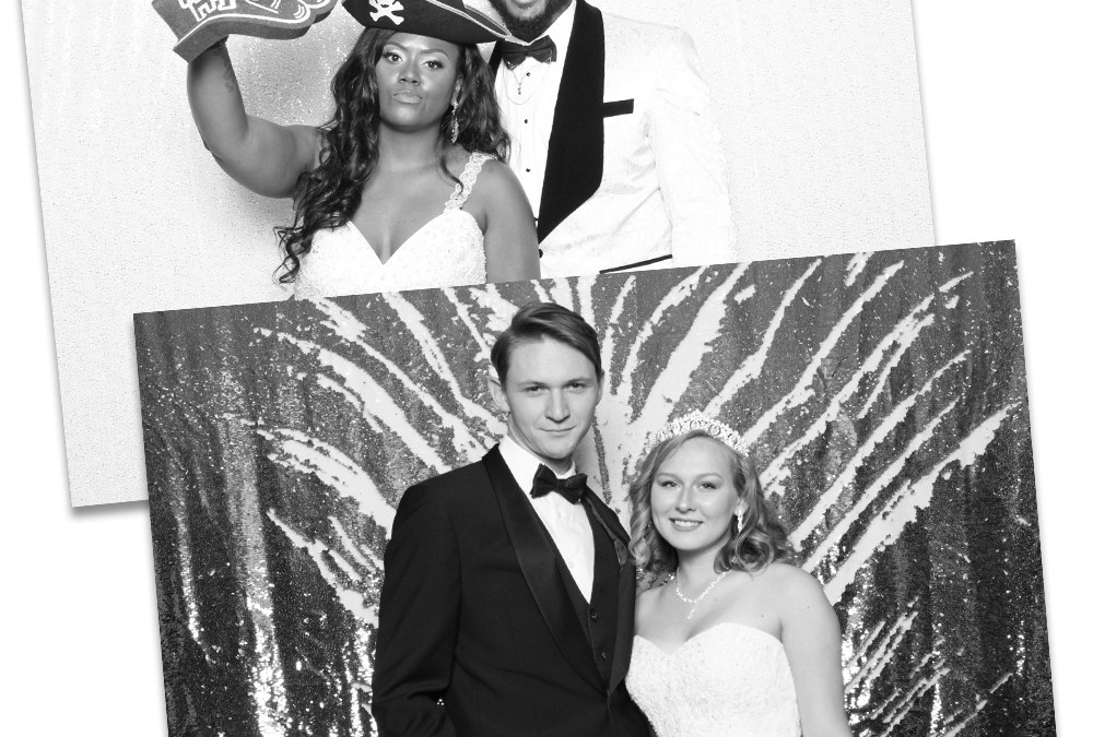 Now offering Black & White Photo Booth Photos