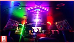karaoke party bus booking