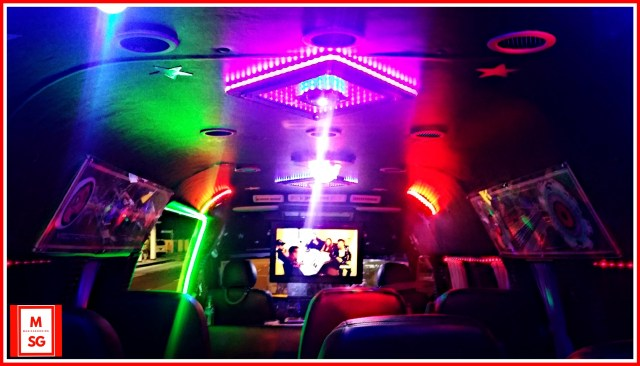 karaoke party bus booking