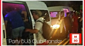 Singapore Party Bus charter service