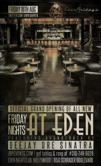 """""""Grand Opening of New Fridays at Eden Hollywood"""""""