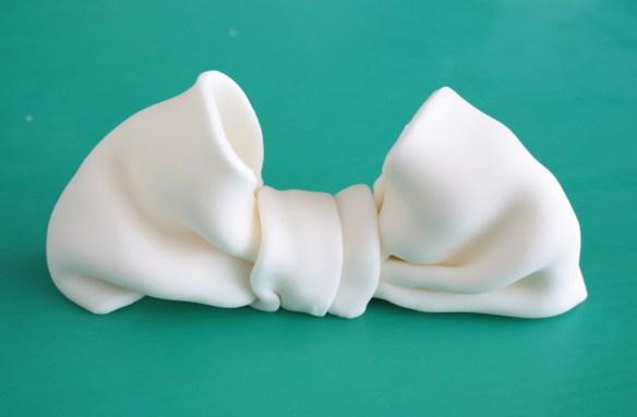 fondant bow ζαχαρόπαστα φιόγκο