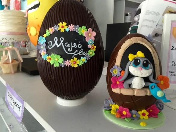 Πώς να διακοσμήσουμε σοκολατένια αυγά Σαμάνθα Samantha