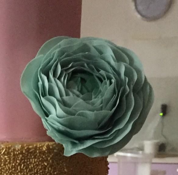 Τούρτα με θέμα 'Παρίσι' Σαμάνθα κας κας κας-κας Cakes By Samantha Double Barrel Cake airbrushing αερογράφο τουρτα με γευση φραουλα Rununculus παστα λουλουδιων λουλουδιον