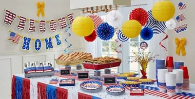 Welcome Home Party Supplies - Patriotic Military Party ...