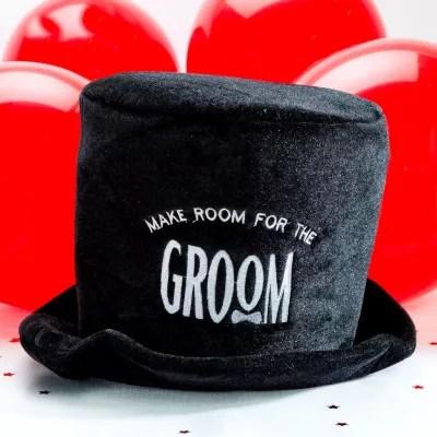 Groom Top Hat 7 1 2in X 9in Party City