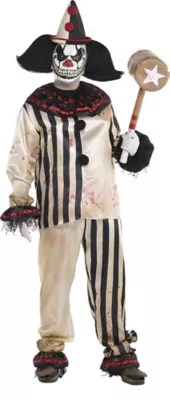 Create Your Own Men's Scary Clown Costume Accessories