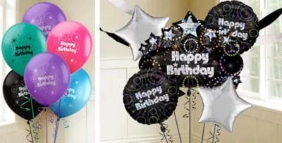 40th Birthday Balloons Party City