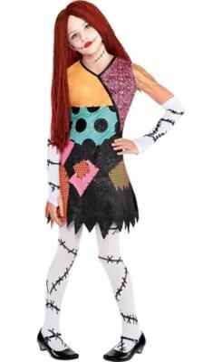 Girls Sally Costume The Nightmare Before Christmas